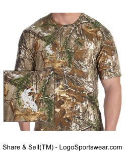 Redfish Outdoors Camouflage Pocket T-Shirt Design Zoom