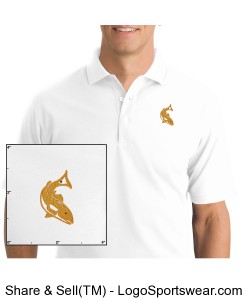 Redfish Outdoors Polytech Polo Mens Design Zoom